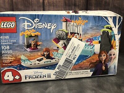GENUINE LEGO Disney Frozen 2 Anna's Canoe Expedition Building Kit, 41165
