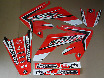 FLU  DESIGNS HONDA GRAPHICS HONDA CRF70 2004-2012   AND  CRF80 CRF100 2004-2010