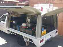 Triton work ute with canopy. Dunsborough Busselton Area Preview