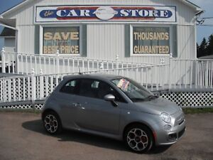 2016 FIAT 500 2016 FIAT 500 Sport AUTOMATIC AIR CRUISE!! ALLOYS