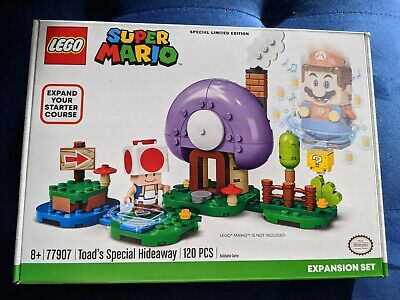 NEW Lego 77907 Toad's Special Hideaway Nintendo Super Mario expansion set
