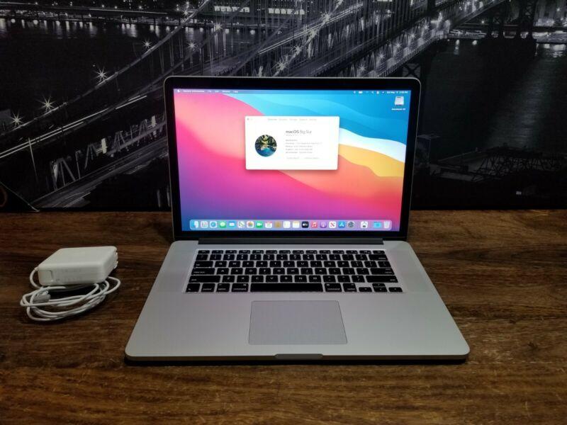 """2013-2014 15"""" MacBook Pro Retina i7 Quad 2.0GHz-3.2GHz Turbo 8GB 256GB WARRANTY"""