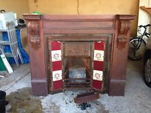 Victorian cast iron fire place and mantel Mount Colah Hornsby Area Preview