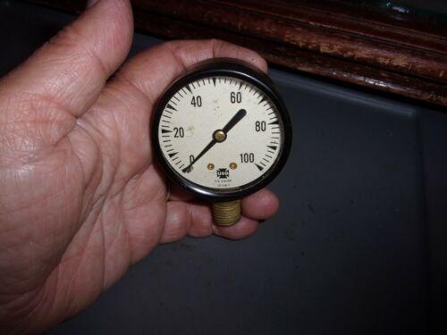 "*Vintage* US Gauge USG Steampunk Industrial Machine Age 2 1/8"" 12108-1"