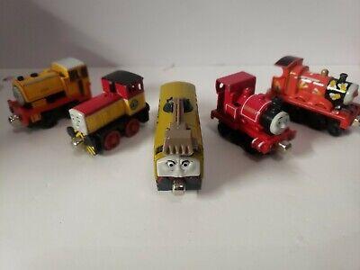 Vintage Thomas the Train diecast LOT Diesel 10, Dart, Bill, James, Skarloey
