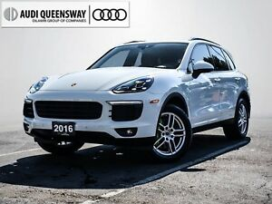 2016 Porsche Cayenne S, Hybrid, Loaded, Electric/Gas, MTO Green