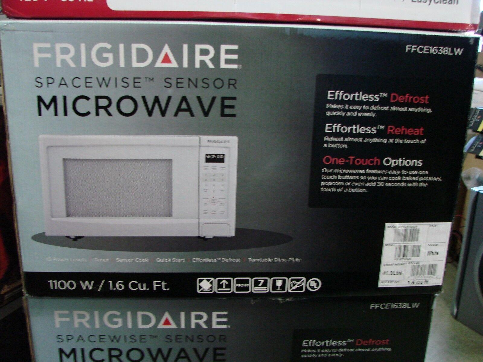 Frigidaire FFCE1638LW 1100-watt Countertop Microwave, 1.6 Cu