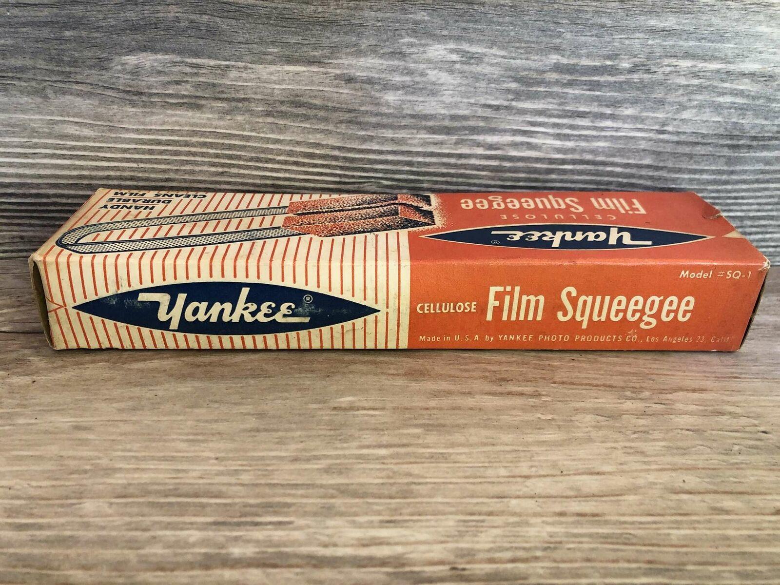 Vintage Yankee Cellulose Film Squeegee Model SQ-1 - $12.00