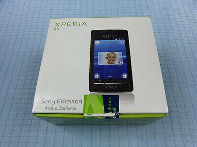 Sony Ericsson Xperia X8 E15i Schwarz/Rot! Neu & OVP! Unbenutzt! Ohne Simlock!RAR
