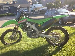 2012 KX 250F. Like NEW condition. VERY LOW hours.