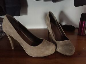 Bettes Suede taupe heels Maitland Maitland Area Preview