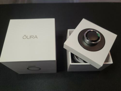 Oura Ring Heritage Silver - US Size 9 - Brand New In Box