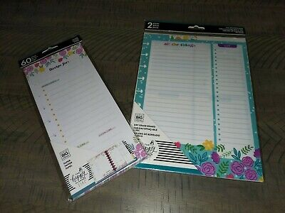 Happy Hostess Recipe Paper 2 Dry Erase Boarddashboard Lot The Happy Planner