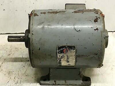 Clausing 20 Variable Speed Drill Press Motor 1-12 Hp 3 Phase 220 Volt 1725 Rpm