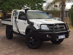 2008 Toyota Hilux Extra Cab KUN26R MY11 Upgrade SR(4x4)5speed manual Kewdale Belmont Area Preview