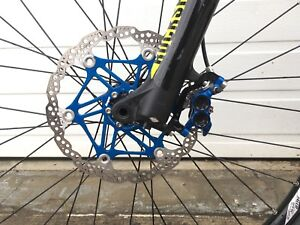 2015 carbon  Devinci Spartan RC with new Hope brakes