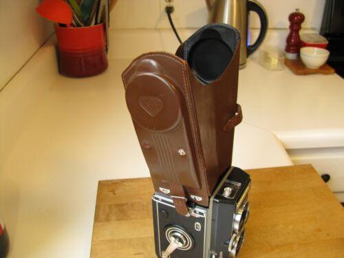Rolleiflex Binocular Magnifying Leather Folding Focusing Viewing Hood Finder