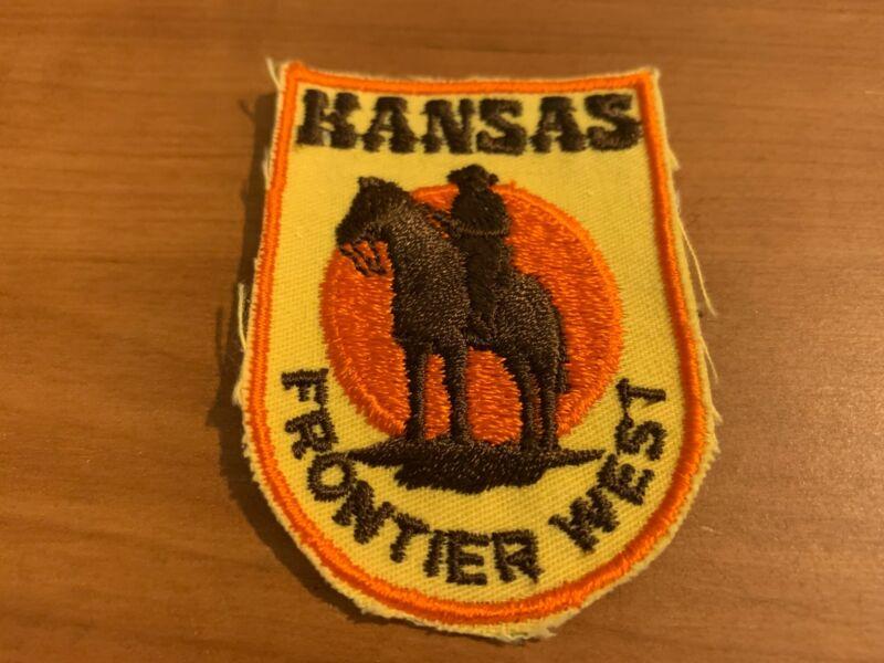Vintage Kansas – Frontier West Souvenir Patch/Badge
