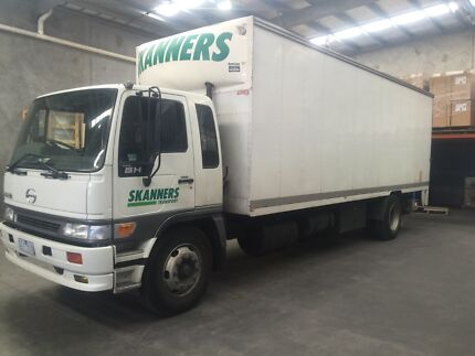 2002 HINO GH PANTECH WITH TAILGATE  Campbellfield Hume Area Preview