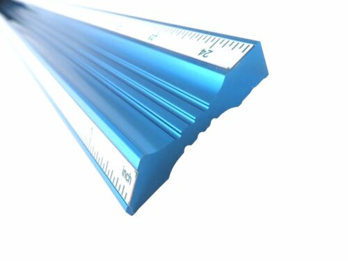 "24"" Aluminum Straight Edge Bevel Edge Guaranteed Straight to .001""/24"" BESE24"