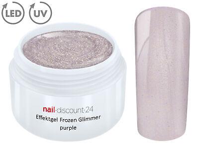 OZEN Glimmer PURPLE Farb Color Feiner Glitzer Glitter Lila (Frozen Farben)
