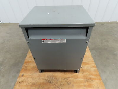 Square D 15t6h Sorgel General Purpose Transformer 15kva Primary Hv 480 Lv 240