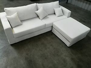 Modern design 4 seater sofa with 80*80cm ottoman only 450 last pi Kingsgrove Canterbury Area Preview