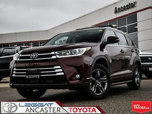 2018 Toyota Highlander Limited only 5996 kms !!