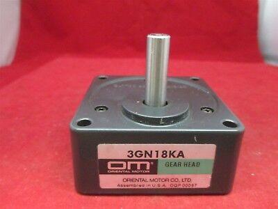 Oriental Motor Gearhead 3gn18ka