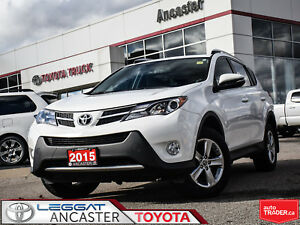 2015 Toyota RAV4 XLE AWD WITH NAVIGATION!!