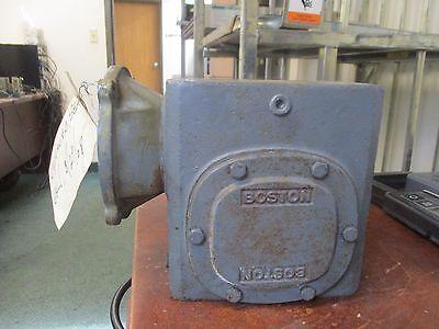 Boston Gear Reducer F726-25-b7-j Ratio 251 1.94 Hp In Used