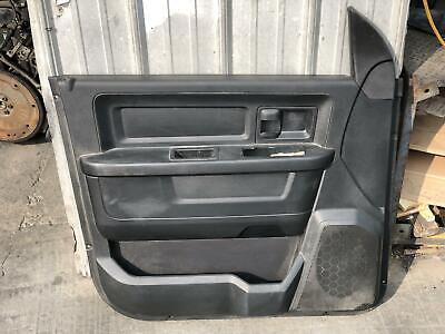 13 14 15 16 17 18 Dodge Ram 4DR Driver Left Front Door Panel Black OEM