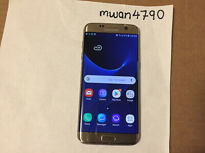 Samsung Galaxy S7 edge SM-G935 - 32GB - Gold Platinum (AT&T) Smartphone
