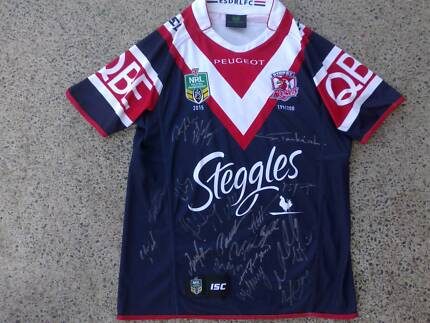 SIGNED ( limited edition 199 / 200) Sydney roosters NRL jersey