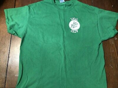 Original Zac Brown Local Crew band shirt, Tour 2017 Extra Large Kelly Green Kelly Green Band