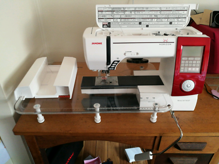 Like New Janome sewing machine Horizon A Quiltor's Dream Memory C