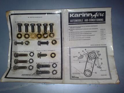 Valiant Slant 6 Aircond Installation Kit - Karinnaire