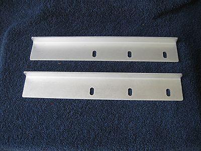2 - Aluminum 90 Degree Right Angle L Brackets Corner 2 X 34 X 12 58 X 18