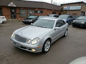 2003 MERCEDES E500 SUPPER CLEAN 145,000KM ONLY E 500
