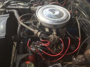 200 straight six mustang complete engine and tranny
