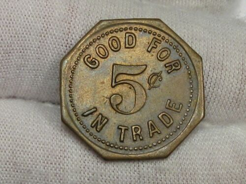 Good for 5¢ Cents Mike