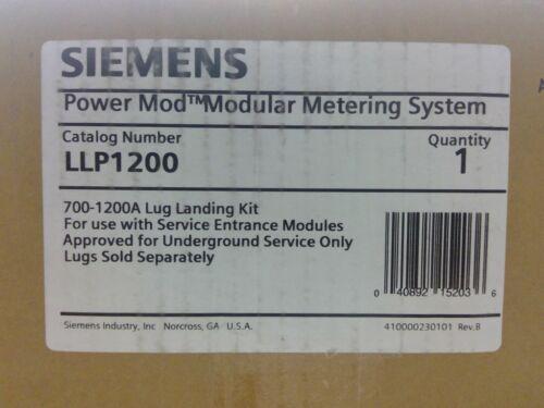 Siemens LLP1200 700-1200A Power Mod Lug Landing Kit **Free Shipping**