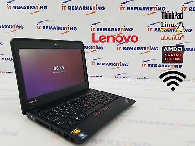 Lenovo Thinkpad X131e Amd 1 7Ghz 8Gb Ram 320Gb Hdd Linux Ubuntu Os Libreoffice