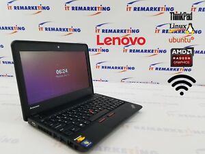 Lenovo ThinkPad X131e AMD 1.7GHz 8GB RAM 320GB HDD Linux Ubuntu OS LibreOffice