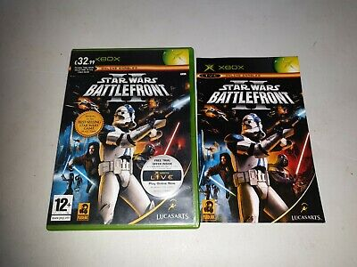 STAR WARS BATTLEFRONT II 2 - XBOX GAME / + XBOX 360 & XBOX ONE ORIGINAL COMPLETE