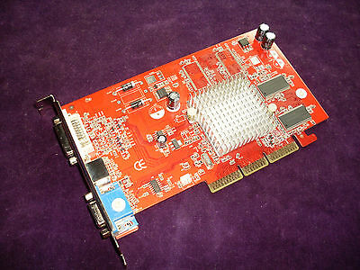 Ati Radeon 9200 SE 128Mb TV-out DVI AGP Grafikkarten