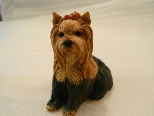 Yorkshire Terrier Yorkie Dog Pups Galore P607 UK Hand Painted