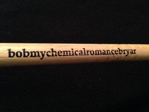 MY CHEMICAL ROMANCE BOB BRYAR CONCERT USED DRUMSTICK GERARD WAY FRANKIE IERO