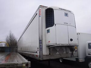 2012 utility 3000R 53 Foot Triple Axel Trailer With Thermo King