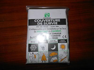 1 COUVERTURE DE SURVIE OR / ARGENT